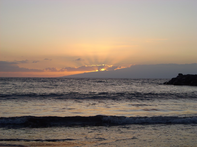 Sunset Playa de las Americas Tenerife