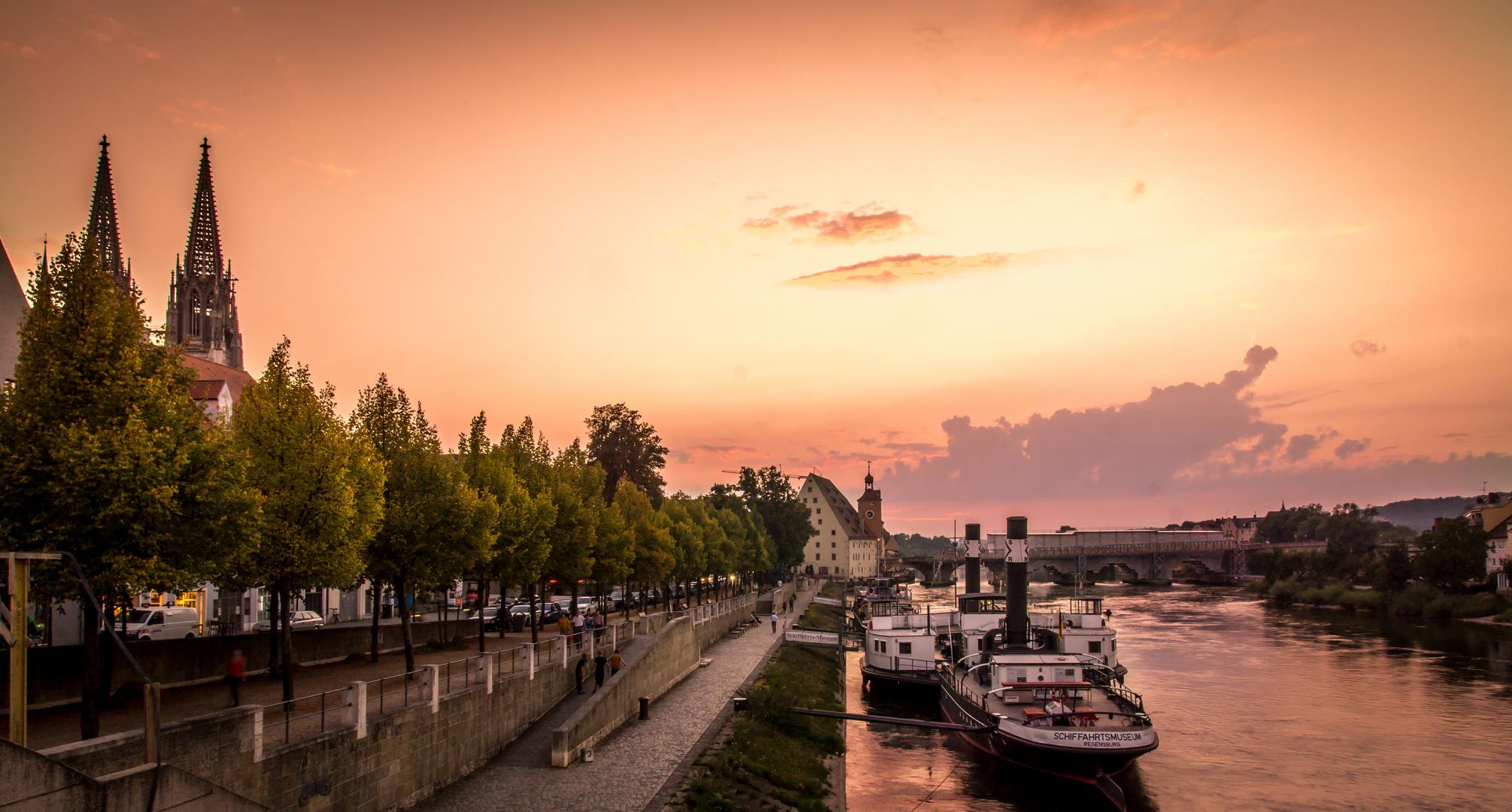 #Sunset Regensburg