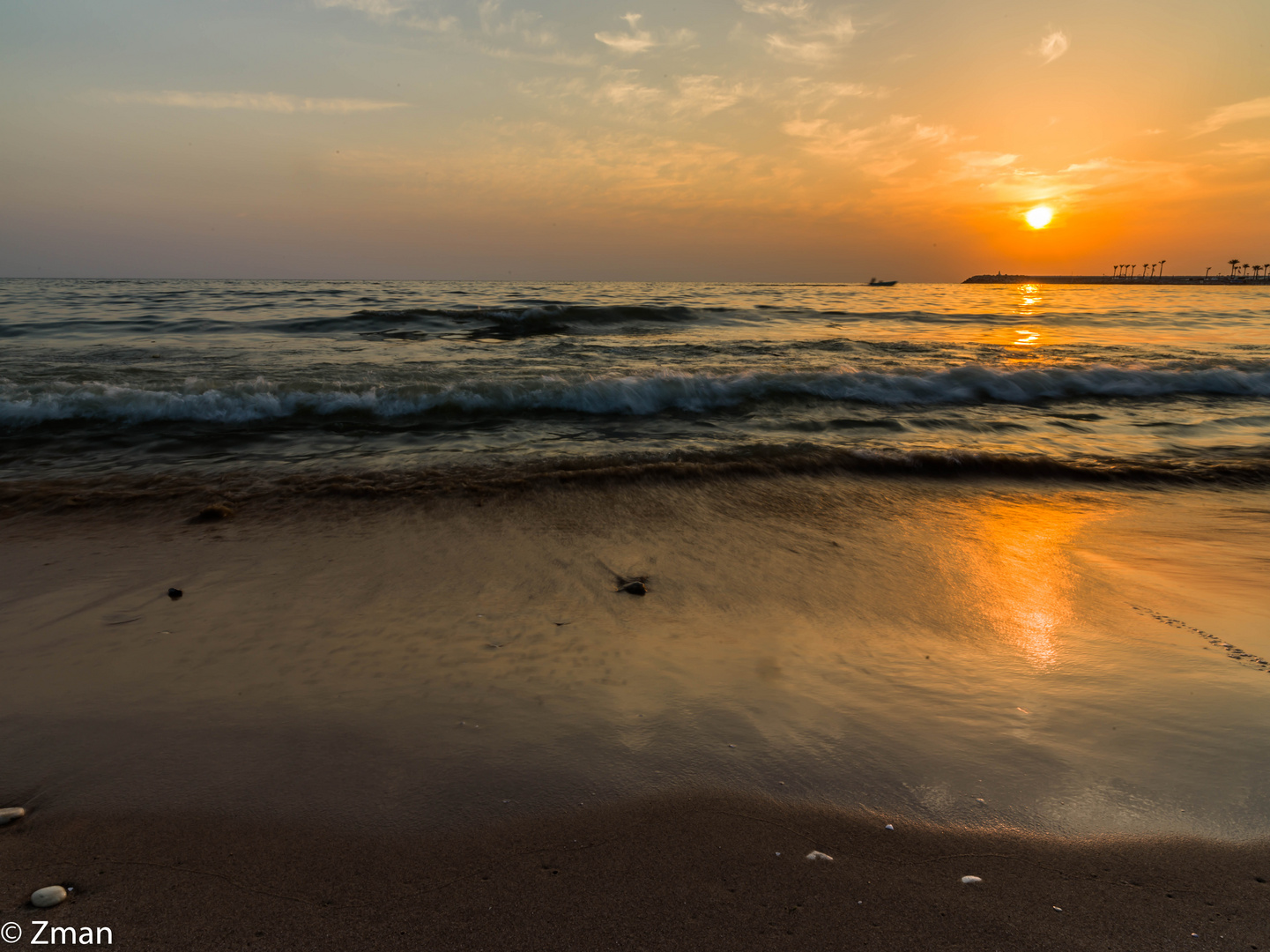Sunset, Sea and Sand  B0002284-16
