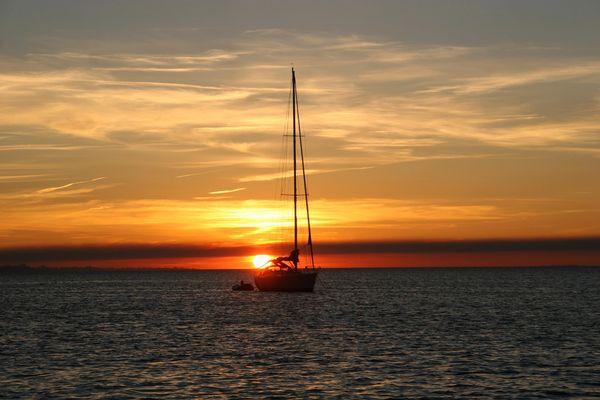 Sunset - Segeltörn 2008