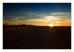 Sunset to Salar de Uyuni