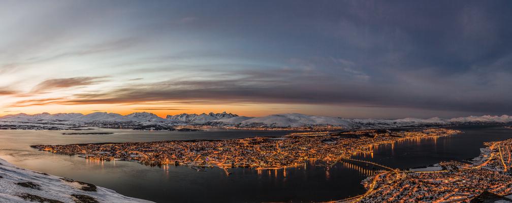Sunset @ Tromsø