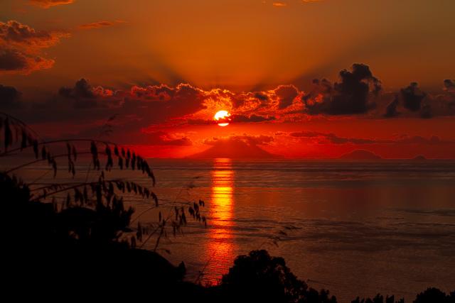 Sunset Tropea
