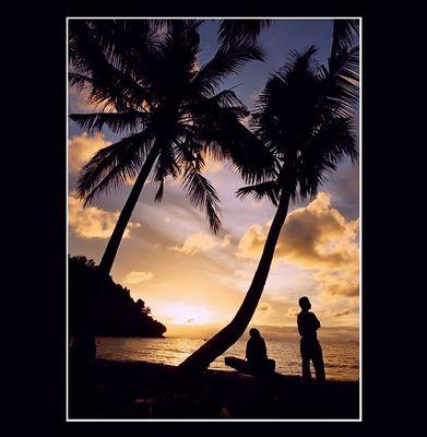 Sunset @ Tropical Land