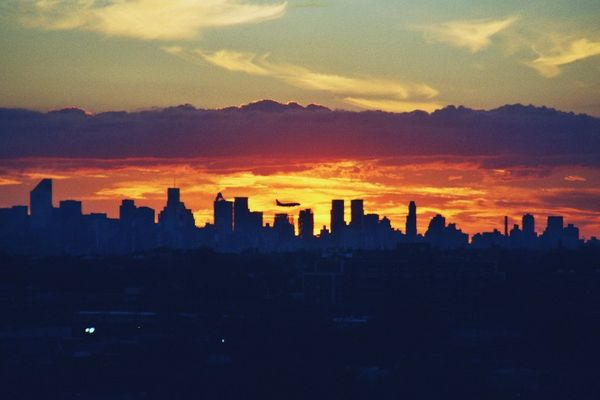 Sunset über NY