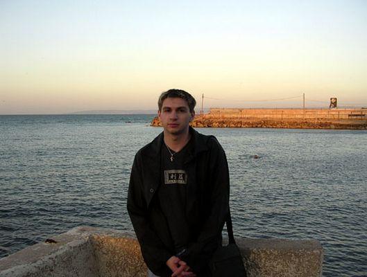 Sunset upon Haifa's bay...