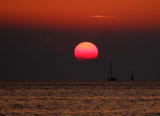 Sunset Urlaubs-Superkitsch....