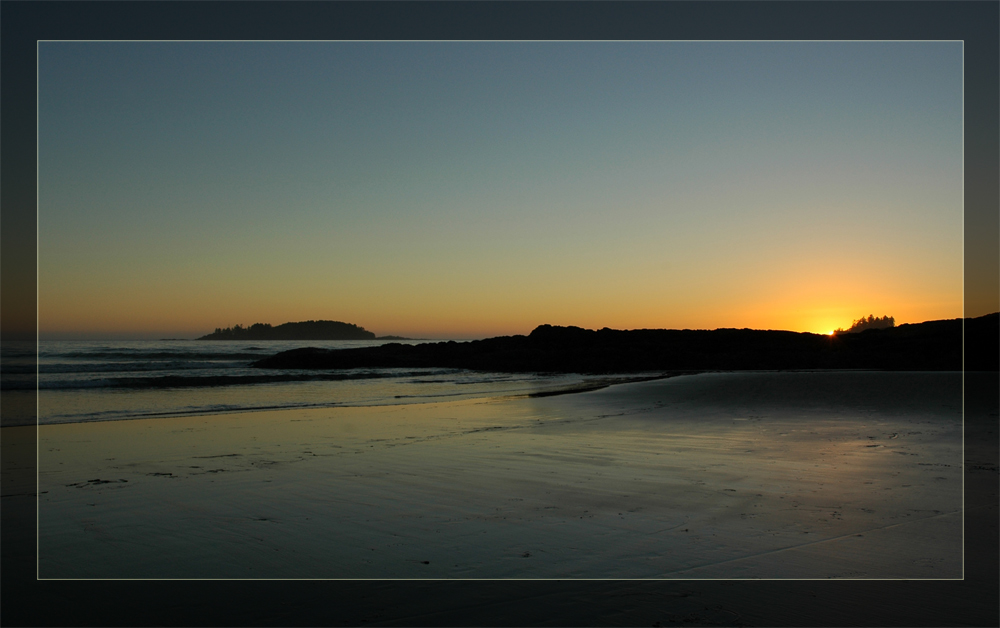 Sunset Vancouver Island - Tofino