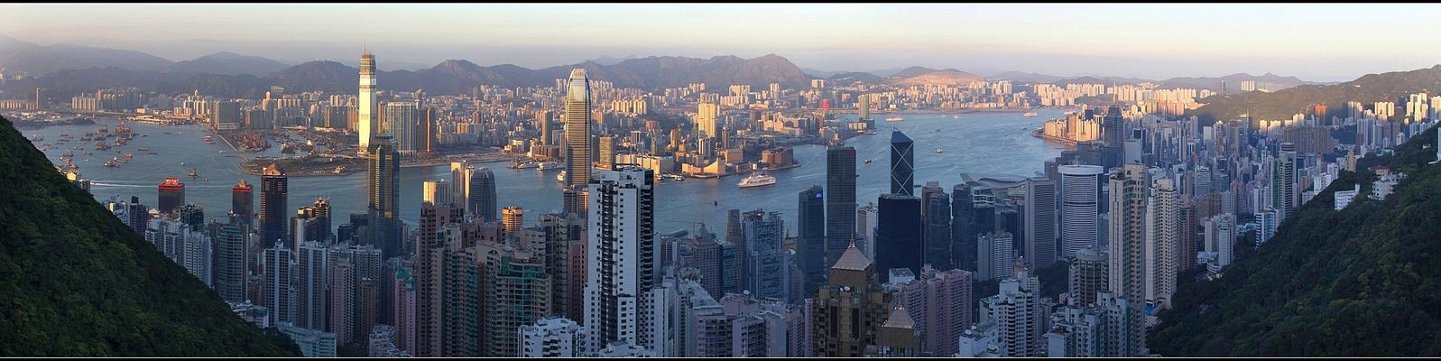 Sunset view - Hong Kong