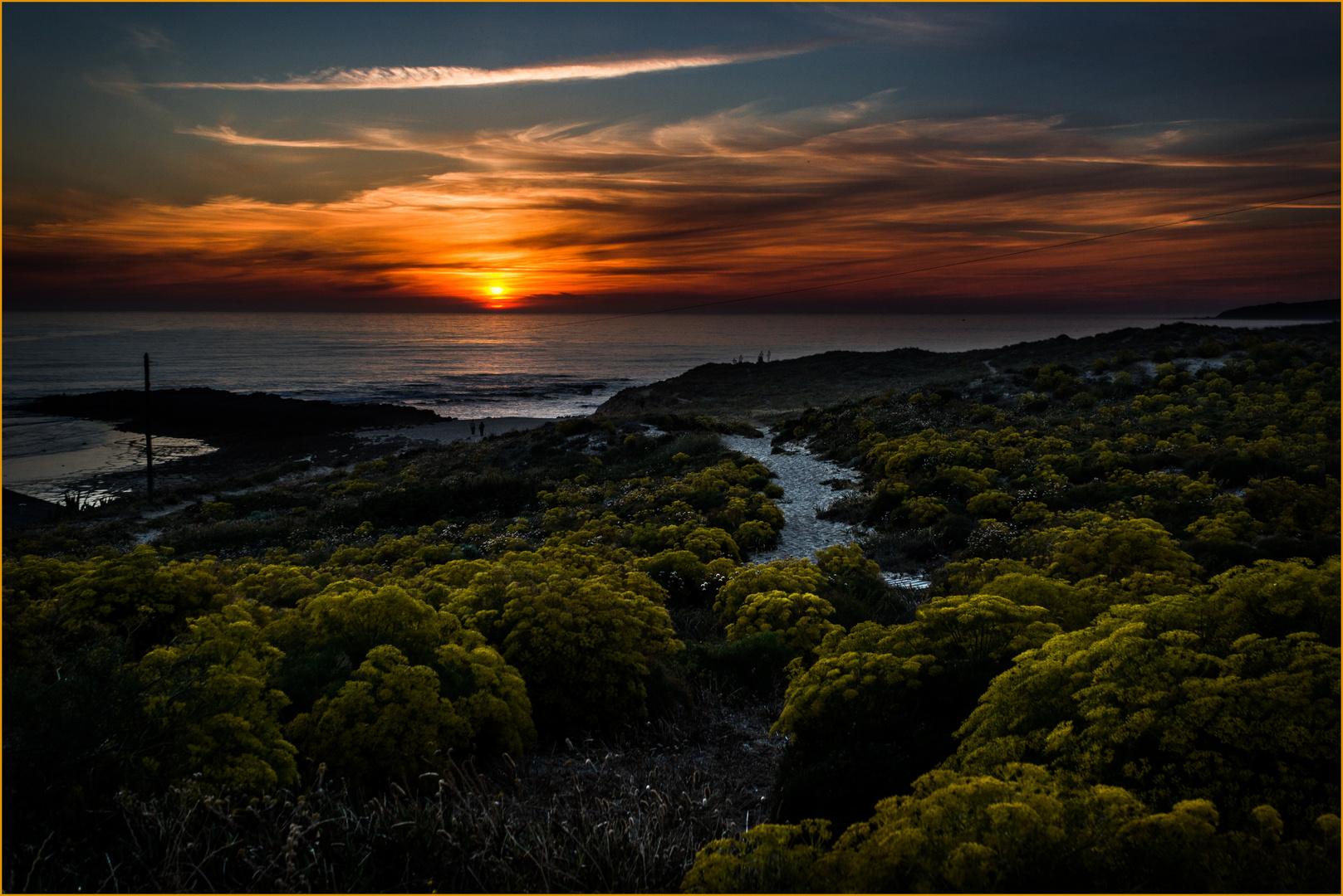 sunset - vila nova de milfontes