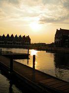 Sunset Volendam