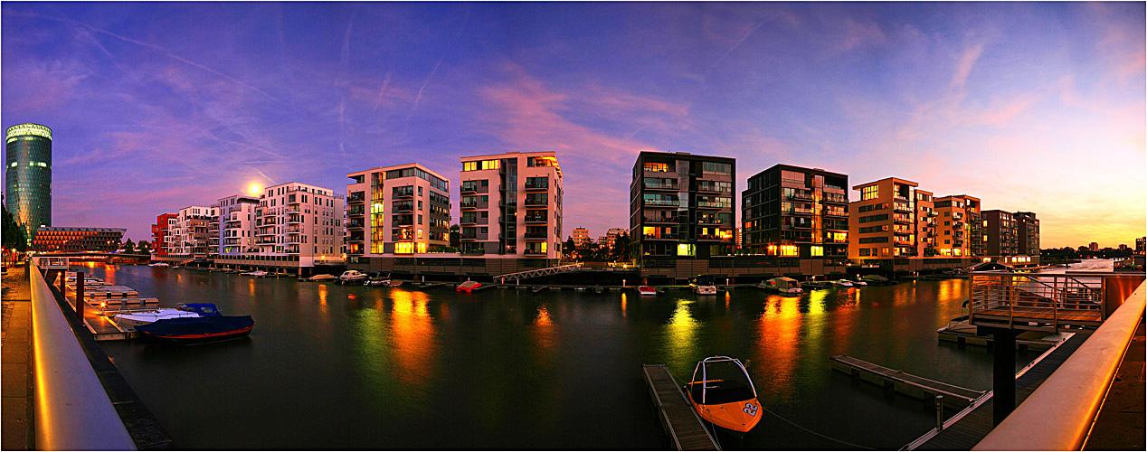 Sunset Westhafen