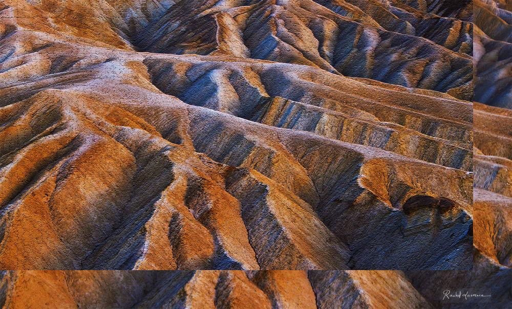 Sunset Zabriskie Point Death Valley USA