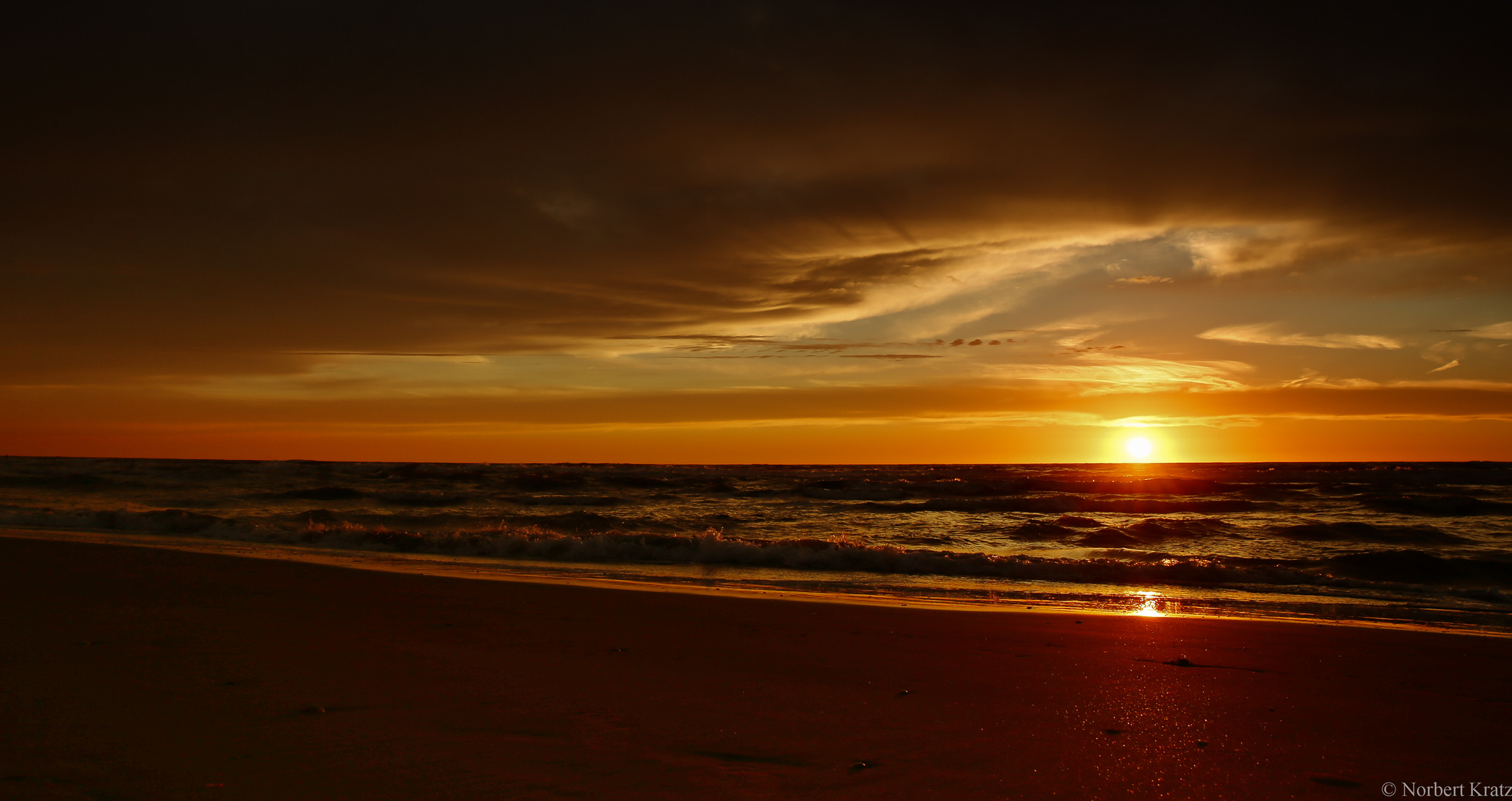Sunset Zandvoort 07.09.2013