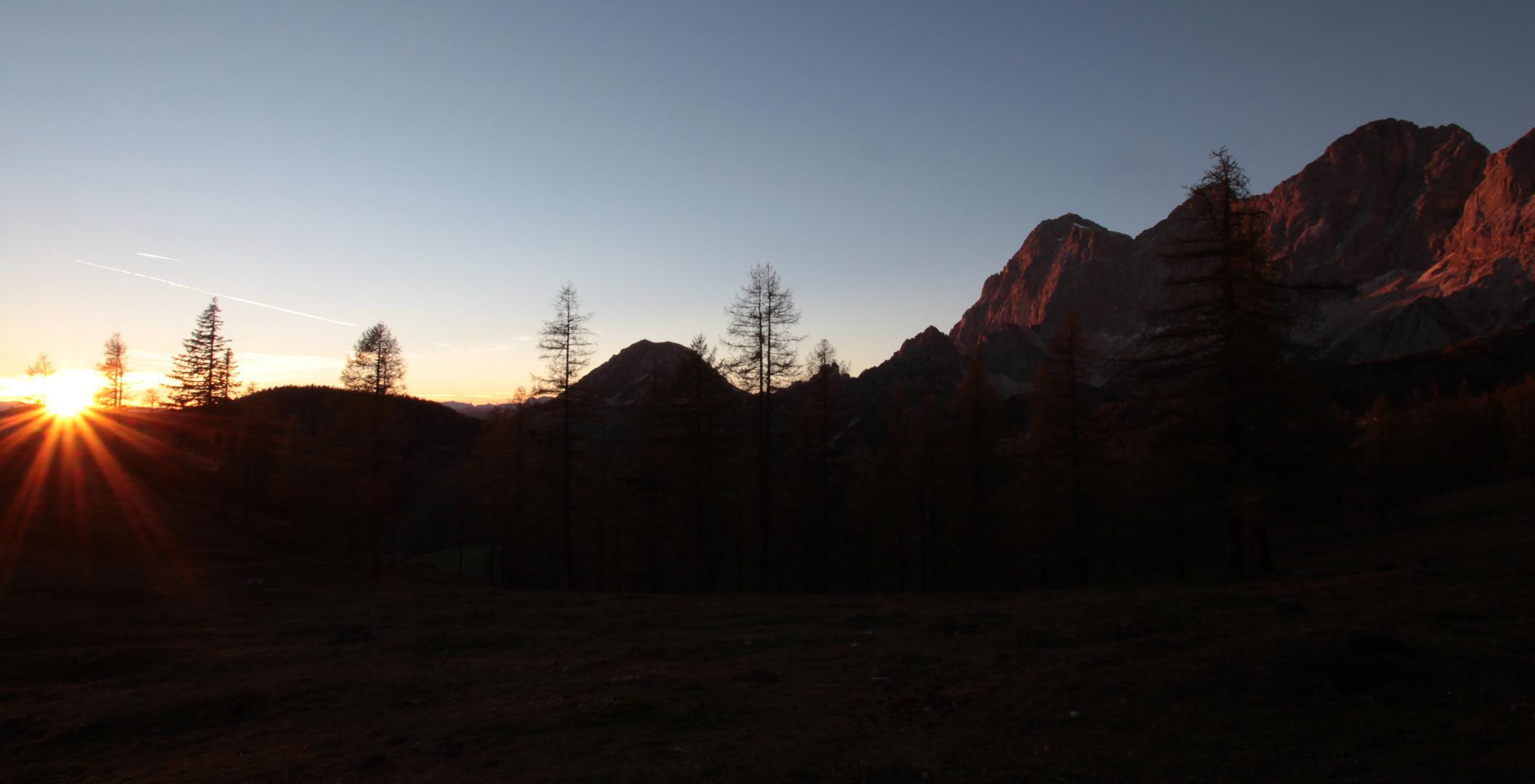 Sunset@Dachstein II
