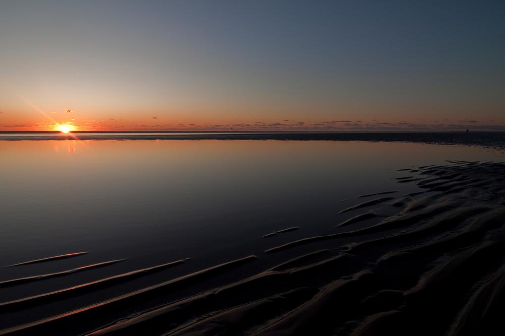 sunset@fanö-beach