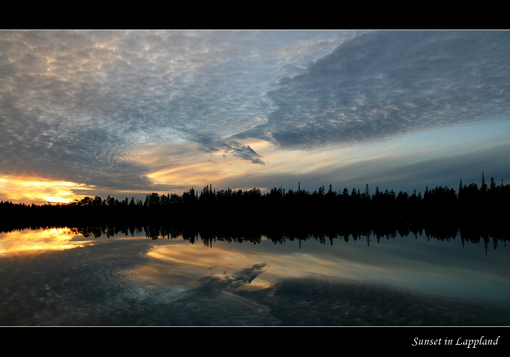Sunset_in_Lappland