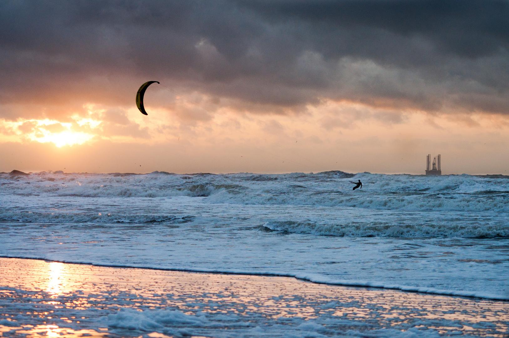 Sunsetsurfing!