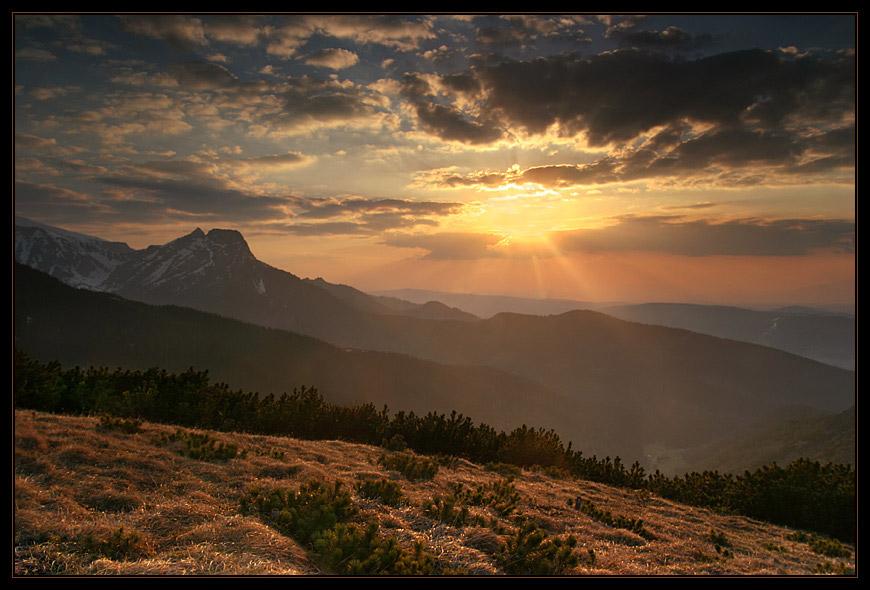 Sunsetting in Tatras