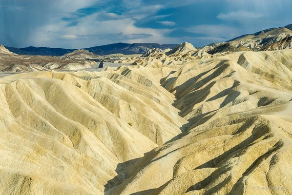 Sunshine and Rain at Zabriskie Point