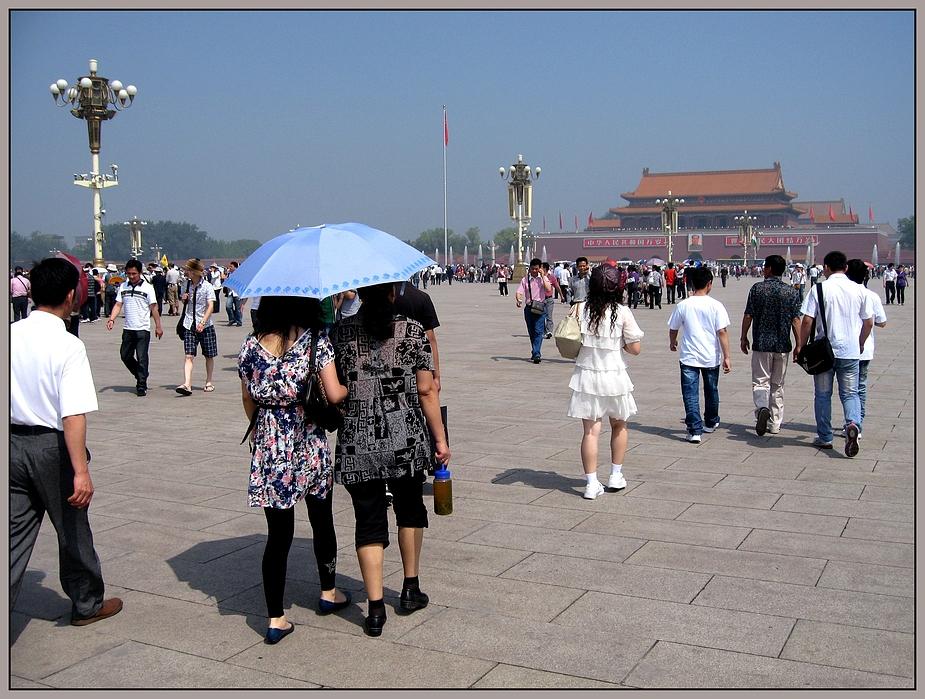 sunshine in Beijing