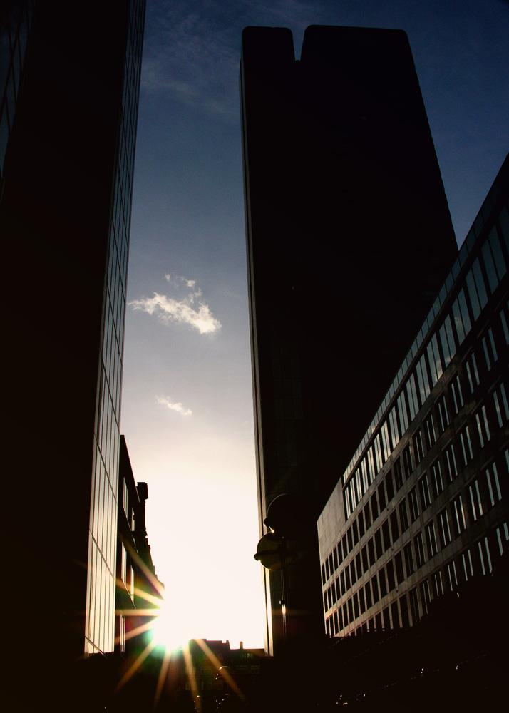 Sunshine over the Skyline