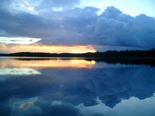 suomi-sunset