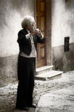 suonatore di flauto