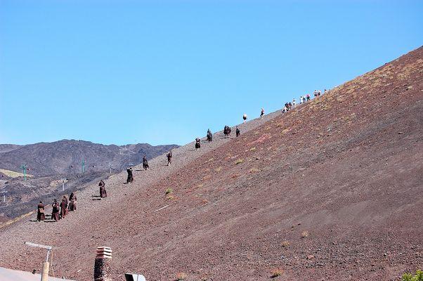 suore sull'Etna