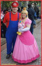 Super Mario hat seine Prinzessin gefunden