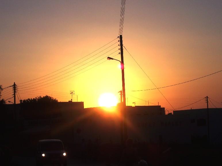 SUPER MARKET Sunset