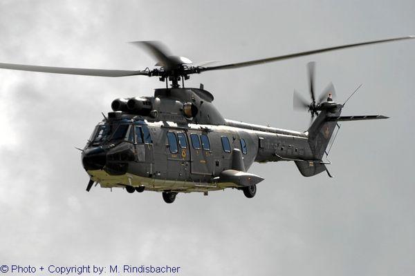Super Puma der Schweizer Luftwaffe