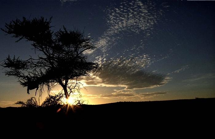 Superbe coucher de soleil