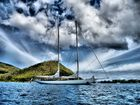 Superbe Yacht à rodnay Bay