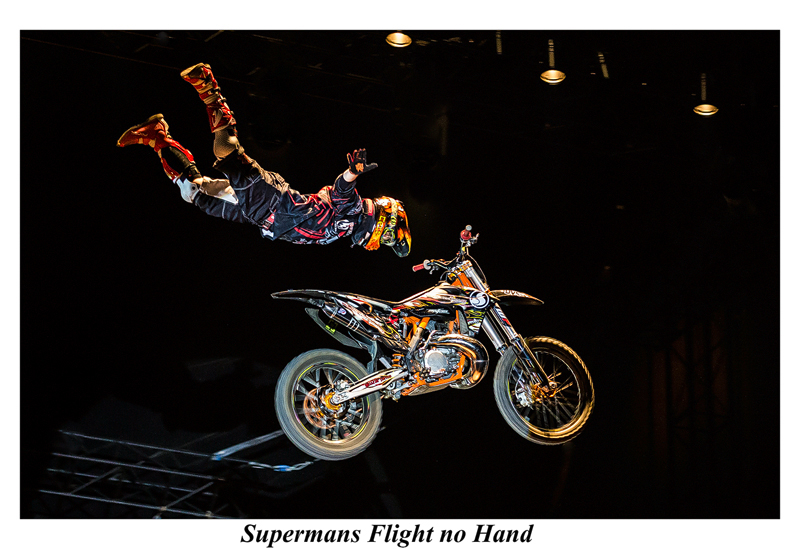 Supermans Flight no Hand