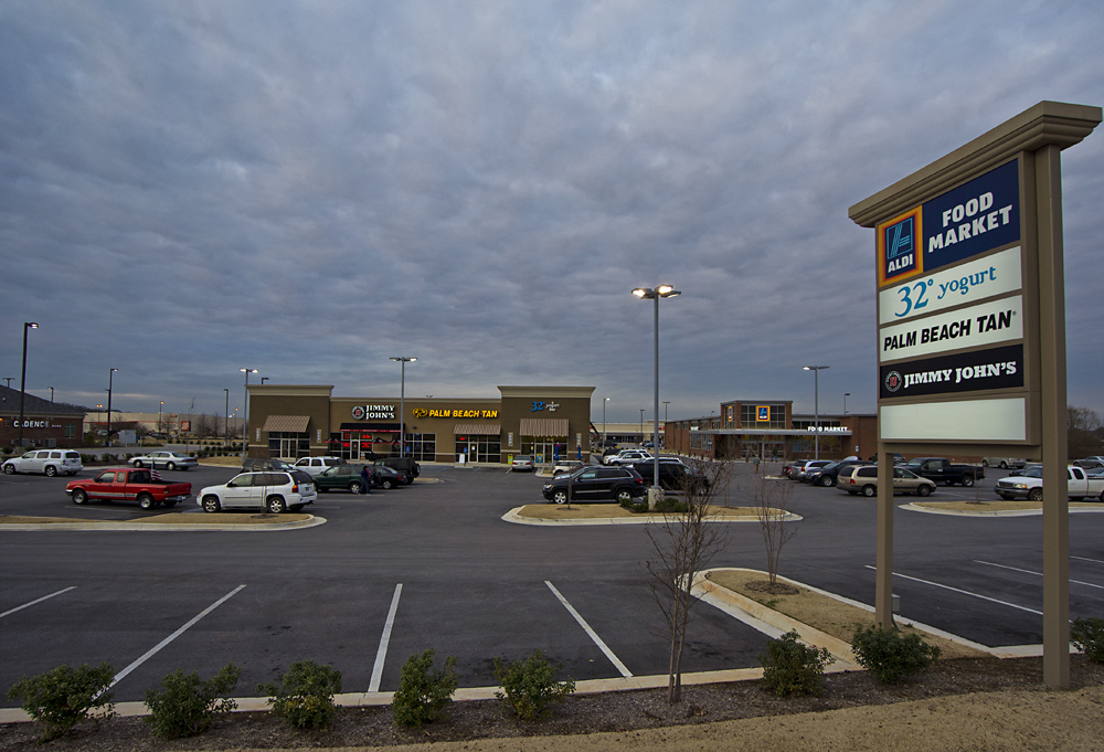 Supermarkets, Malls, and Shopping Centers: ALDI in Madison