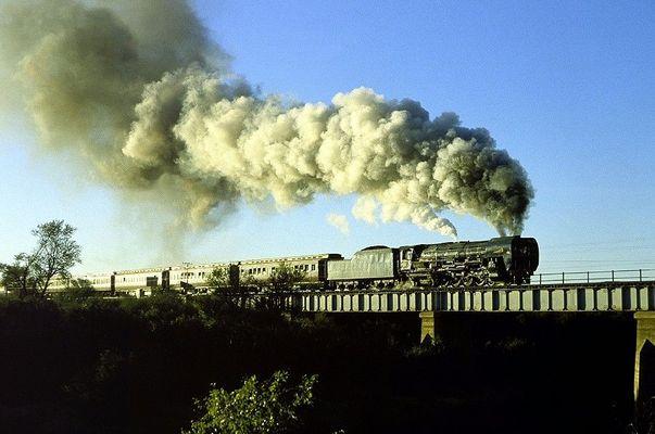 Superpower (oder: Die modernste Dampflokomotive der Welt)