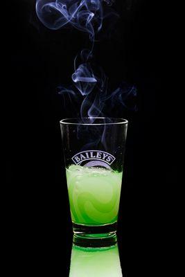 Suppenzauber oder Grüne Witwe Spezial im falschen Glas