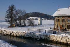Sur heißt der Bach in Teisendorf