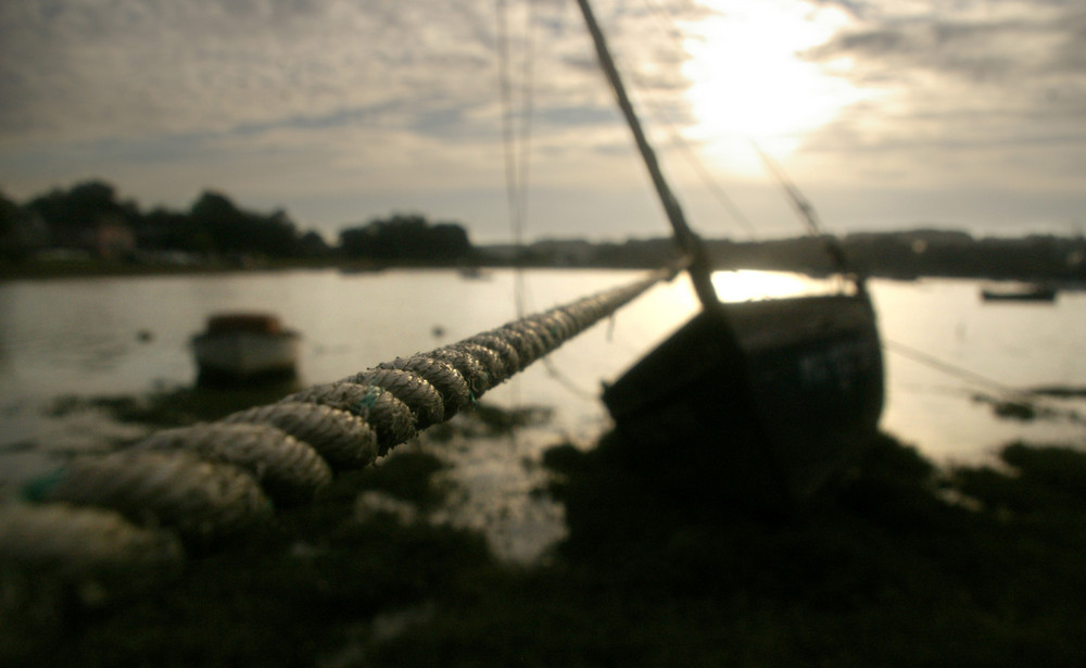 sur la corde