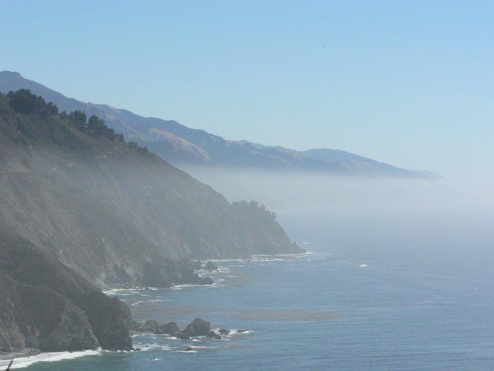 Sur la côte de la Californie...