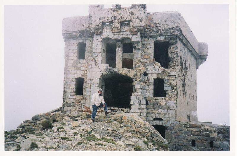 Sur la frontière italienne : le fort de l'Authion.