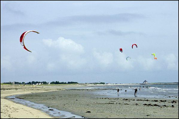 Sur la plage de PENVINS