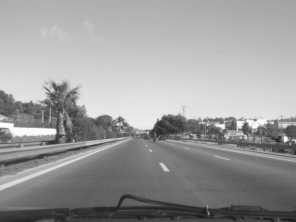 sur la route..