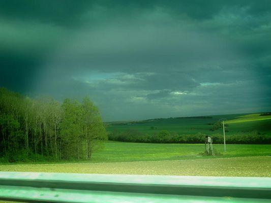Sur la route....