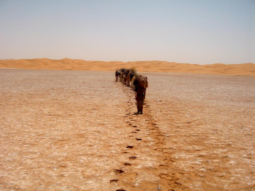 Sur la route de la soif