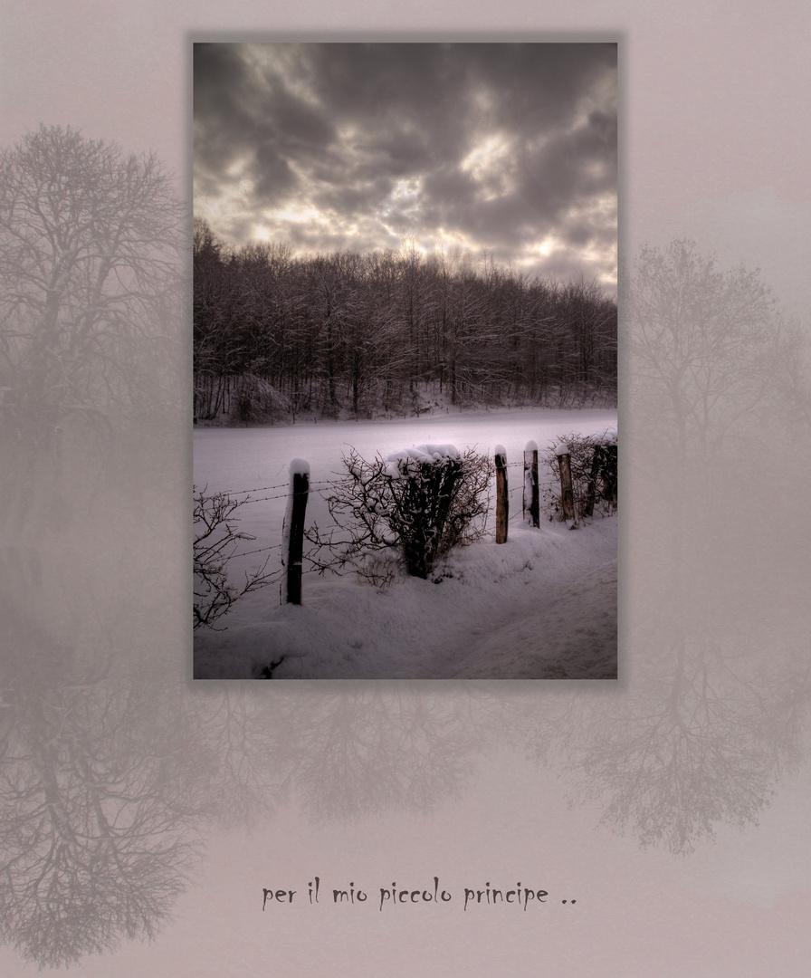 ... sur la route de l'hiver...