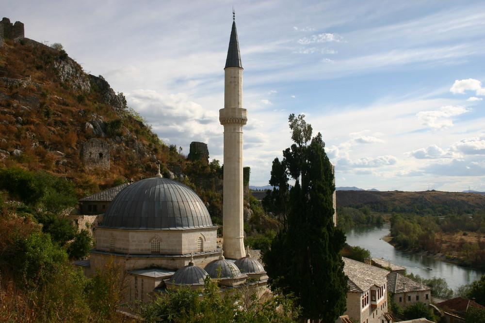 Sur la route de Mostar