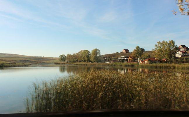sur la route en Roumanie...