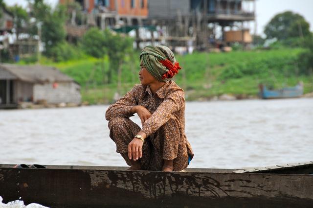 Sur la Tonlé Sap